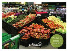 Nuestros productos frescos y empacados están a la venta en las redes de supermercados Carulla, Éxito y Tiendas Olímpica. www.mambo.com.co