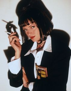 Uma Thurman for Pulp Fiction