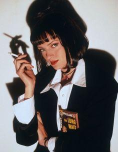 "Uma Thurman in ""Pulp Fiction"" (1994). DIRECTOR: Quentin Tarantino."
