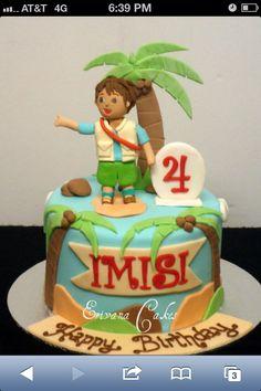 3rd Birthday Cake? Diego!