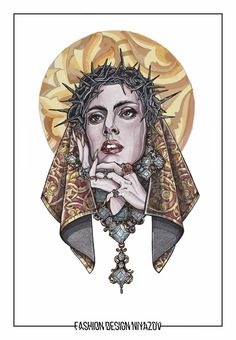 Lady Gaga Artpop, Judas Lady Gaga, Lady Gaga Tattoo, Lady Gaga Pictures, Chinese Patterns, Kiss Art, Celebrity Drawings, The Fame Monster, Our Lady