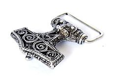 #Viking #Thor Hammer #Buckle - available in wholesale and retail on www.peraperis.com and on Etsy - 11.99 €