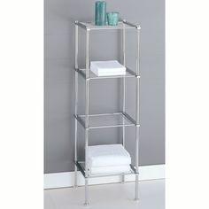 Amazon.com: Organize It All Metro 4-Tier Shelf (16984): Kitchen & Dining