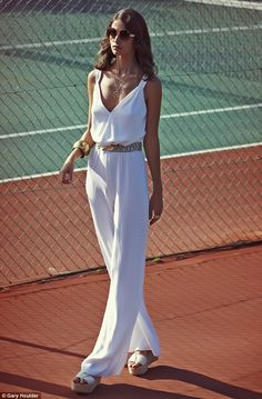 Tennis and fashion. My two loves! - Tennis romper maybe a short one :)