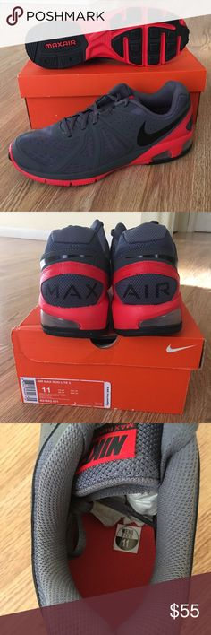 Nike Air Max Run Lite 5 NWT New with tags. Never worn! Nike Air Max Run Lite 5  Size 11. Comes with box! Bought for my brother but doesn't fit him. Nike Shoes Athletic Shoes