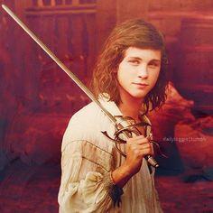 Lerman as D'artagnan