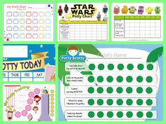 Grab your free 40 printable potty training reward charts for both toddler girls and boys. Free download, no email opt-in required.