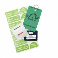 b5d3caa5cb Labels4Kids · Press and Click Pack. Perfect for back to school. Vinyl name  labels