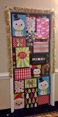 Pleasant Dorm Door Dorm And Doors On Pinterest Easy Diy Christmas Decorations Tissureus
