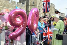 Pin for Later: A Right Royal Knees Up: How the Queen Celebrated Her 90th Birthday