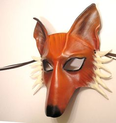 #Leather #Mask #Fox