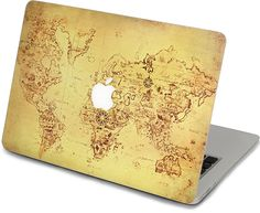 The world map macbook decal air or ipad stickers macbook decals macbook decal macbook air 13 decal cover by creativedecalskin gumiabroncs Gallery