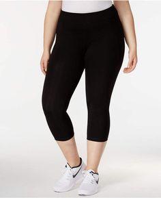 bba7a9fc985 Calvin Klein Plus Size Capri Leggings Plus Sizes - Pants - Macy s