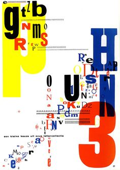 papierdier: Poster competition Dutch Design: Piet Zwart