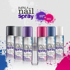 Coleção Impala Nail Spray blog Vanessa Freitas