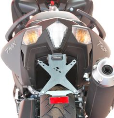 Racing Bike - Easy adjustable license plate