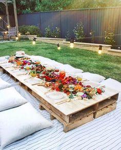 Backyard Picnic Essentials | HOMES