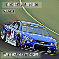 Quicken Loans 400 in-car audio from Michigan.