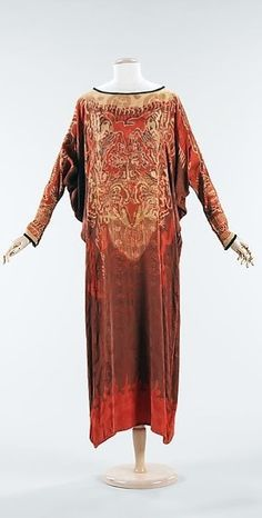 Silk Dress - c. 1920 - The Metropolitan Museum of Art