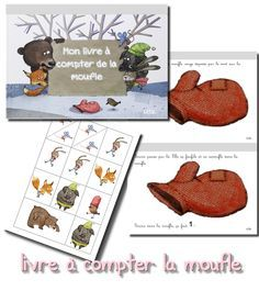 La maternelle de Laurène : livre à compter La Moufle, jusqu'à 5