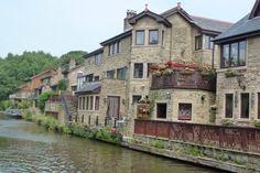 on the canal, near Chorley, UK