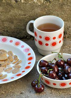 Evo, Retro Vintage, Ceramics, Hungary, Tableware, Nostalgia, Landscape, Drawing, Kitchen
