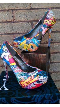 Wonder Woman Shoes....