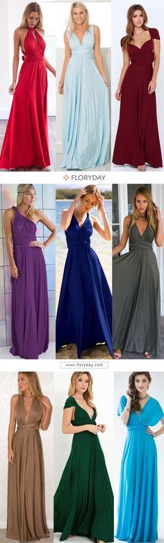 Still need to find a new dress for every occasion? Try this convertible dress wi Affordable Dresses, Elegant Dresses, Beautiful Dresses, Nice Dresses, Formal Dresses, Amazing Dresses, Infinity Dress Ways To Wear, Buy Dress, Dress Up