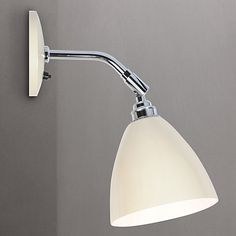 Bathroom Wall Lights John Lewis buy john lewis croft collection barrett wall light online at