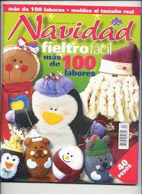 Free magazines Felt: Felt Christmas Crafts