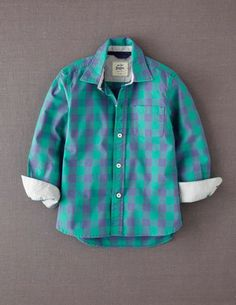 I've spotted this @BodenClothing Laundered Shirt Green Gingham