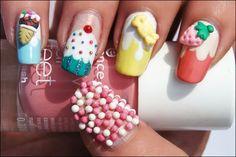 nail art Tendência de Unhas Decoradas, unhas Tendência de Unhas Decoradas