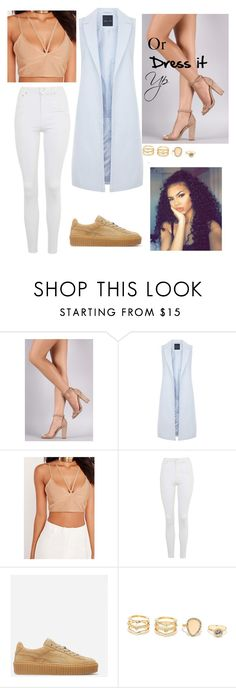 """""""Untitled #176"""" by thewildones211 ❤ liked on Polyvore featuring New Look, Topshop and LULUS"""