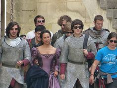Merlin cast. I just want to point out that they all look massively confused and then there's Colin chuckling in the back, which basically sums up the show. <-- Haha, yeah.