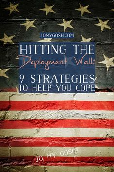 Hit the deployment wall and feel like you can't make it over? Check out these 9 strategies to make the rest of deployment a little easier. Military Deployment, Military Spouse, Deployment Quotes, Deployment Countdown, Military Families, Military Love, Negative Self Talk, Army Life, Finding Joy