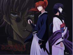 Rurouni Kenshin and Tomoe