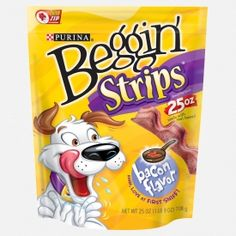 They have a bacon and peanut butter flavored one that Sasha LOVES!