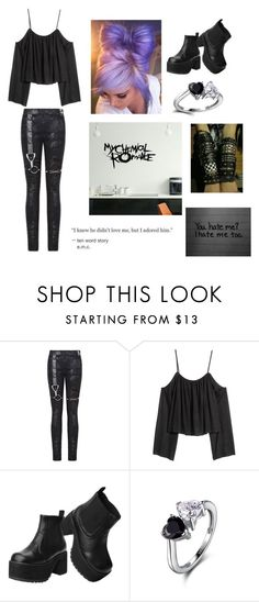 """""""Morning"""" by killjoy-717 ❤ liked on Polyvore featuring T.U.K."""