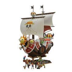 Amazon.com: One Piece: Thousand Sunny Ship New World Ver. Plastic Model Kit: Toys & Games