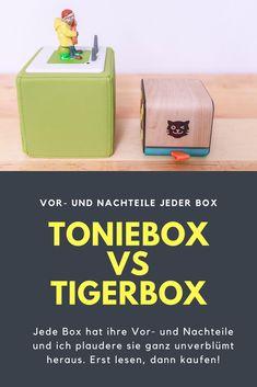 Toniebox vs Tigerbox - ein Vergleich der Vor- und Nachteile jeder Box und ein überraschendes Ergebnis.