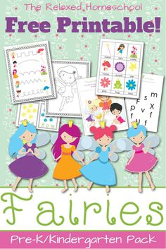 Free Fairy Printable!