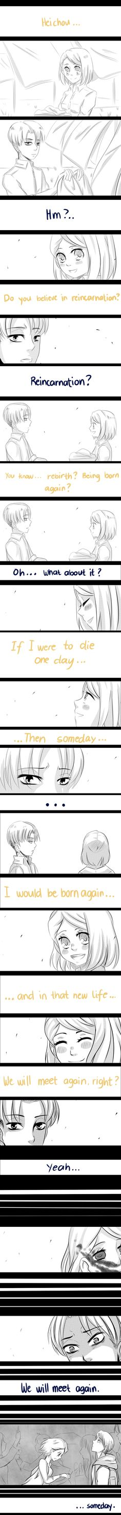 . . . s o m e d a y . by MysteriousDarkness21| Levi and Petra<<hOLY freaking titan crap. THIS A FANFIC WAITING TO BE WRITTEN.YES