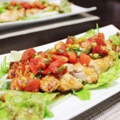 ピリ辛トマトな油淋鶏