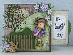 It's A Beautiful Day Slider Card - Magnolia-licious 'Summer Buggy Fun'