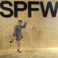 Ebaaaa, eu estive na 39ª Edição da SPFW! Adorei!!! Quero mais!!!