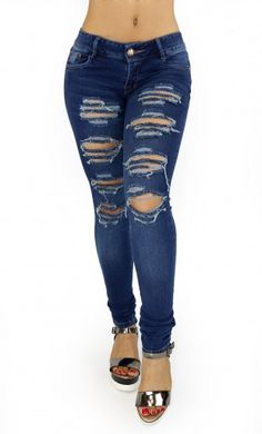 Maripily Destroyed Women Butt Lifting Skinny Jean – This enhance Maripily Skinny Jean are designed to shape your silhouette!