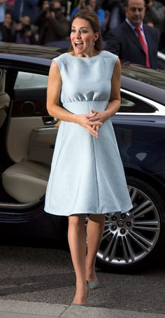 Angelina Jolie Wears Duchess Kate's Favorite Color