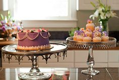 "Vagabond House - ""Arche of Bees"" cake stands"