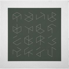 #38 Phantom cubes – A new minimal geometric composition each day