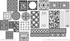 窗花雕刻矢量图__广告设计_广告设计_矢量图库_昵图网